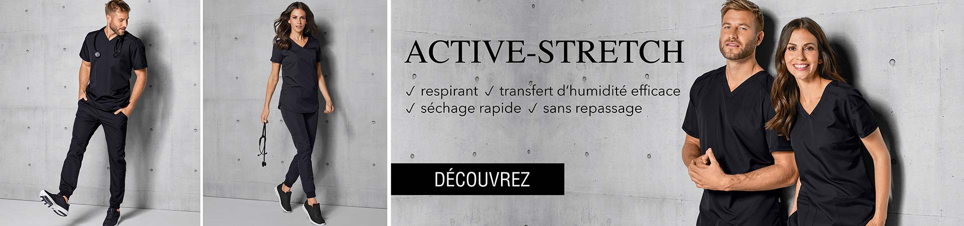 Équipe - Tuniques active-stretch