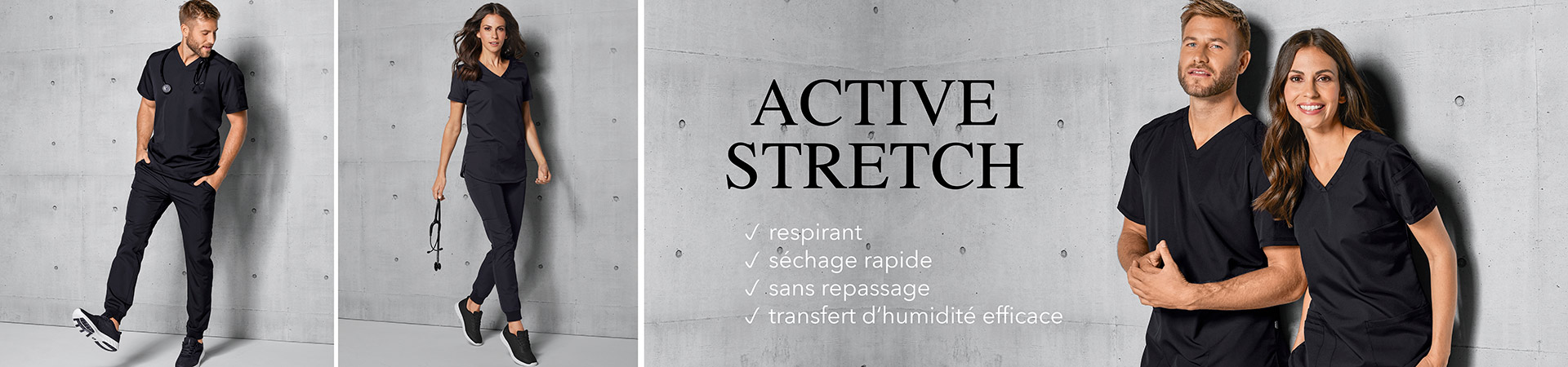 Tenues-d-equipe - Active Stretch