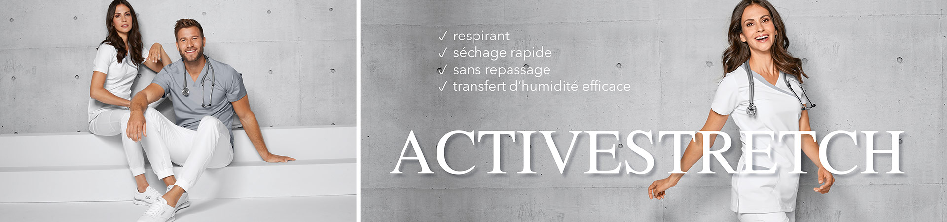 Tenues d-equipe active-stretch